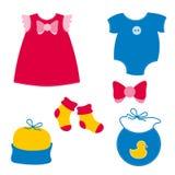 Baby clothing Stock Image