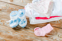 Baby clothing Royalty Free Stock Photos