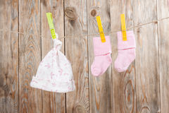 Baby clothing Stock Photo