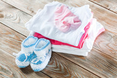 Baby clothing Stock Photos