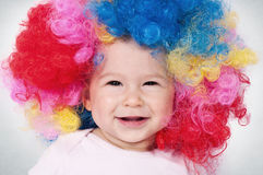 Baby Clown Royalty Free Stock Photos