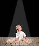 Baby clown Stock Photography