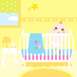 Baby colorful room Stock Images