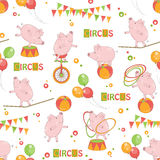 Baby colorful seamless pattern . royalty free illustration