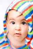 Baby in colors Stock Photos