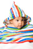 Baby in colors Royalty Free Stock Images