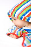 Baby in colors Stock Image