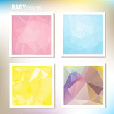 Baby colors Royalty Free Stock Image