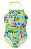 Baby colour swimsuit Stock Image