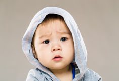 Baby confused Royalty Free Stock Photography