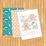 Baby Congratulations Cards Stock Photos