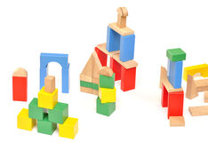 Baby construction set, Royalty Free Stock Images