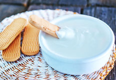 Baby cookies Stock Image