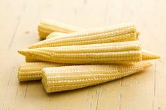 Baby corn cobs Stock Photo