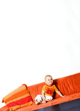 Baby in the corner Stock Image