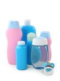 Baby cosmetics Stock Photo