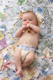 Baby costs Stock Photos