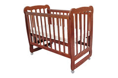 Baby cot Royalty Free Stock Photos