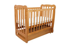 Baby cot Stock Images