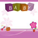 Baby cover Stock Photography
