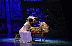 """The baby cradle-Dance drama """"The Dream of Maritime Silk Road"""" Royalty Free Stock Photos"""
