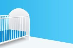 Baby crib Stock Photography