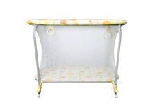 Baby crib Royalty Free Stock Photo
