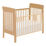 Baby crib Royalty Free Stock Images