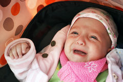 Baby cry Royalty Free Stock Photo