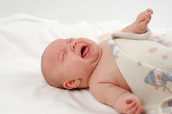 Baby cry Royalty Free Stock Images
