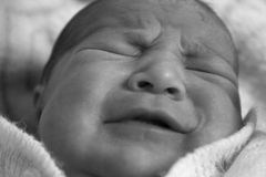 Baby Cry Stock Photography