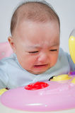 Baby cry. Royalty Free Stock Images