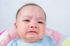Baby cry. Stock Images