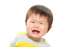 Baby cry Stock Image