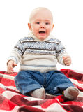 Baby cry Royalty Free Stock Photography
