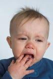 baby crying Στοκ φωτογραφία με δικαίωμα ελεύθερης χρήσης