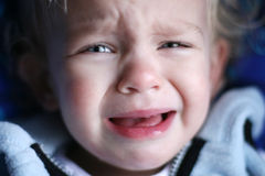 baby crying Στοκ εικόνα με δικαίωμα ελεύθερης χρήσης