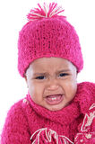 Baby crying Stock Image