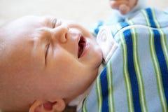 Baby crying Royalty Free Stock Photos