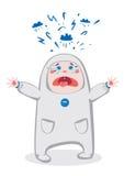 baby crying ελεύθερη απεικόνιση δικαιώματος