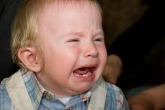 Baby crying royalty free stock image