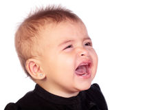 Baby crying Stock Photography