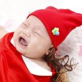 Baby crying Stock Image