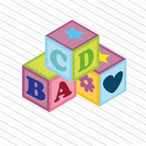 Baby cubes Royalty Free Stock Photography