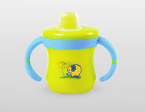 Baby cup royalty free stock photos