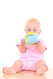 Baby cup Royalty Free Stock Photography