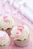baby cupcakes shower Στοκ Εικόνες