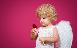 Baby cupid Stock Image