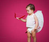 Baby cupid Stock Photo