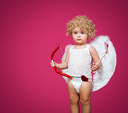 Baby cupid Royalty Free Stock Photo